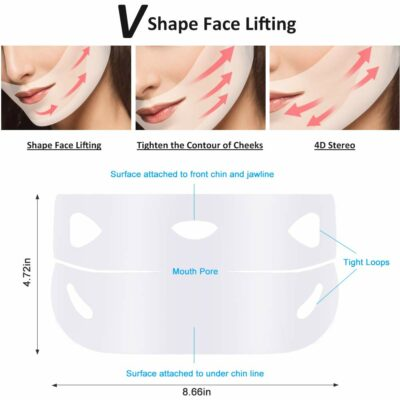 Double Chin Lifting Treatment V Line Mask 4 Sheets